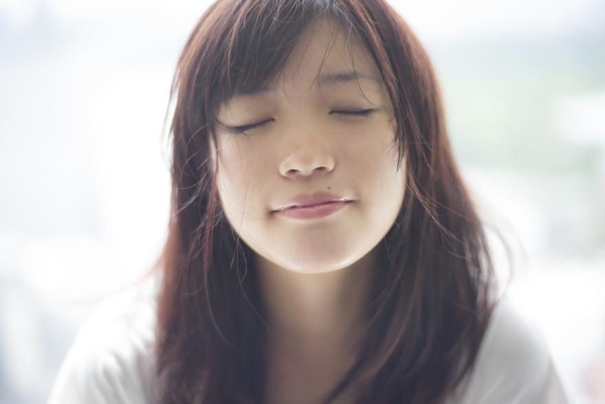 美山加恋のキス顔